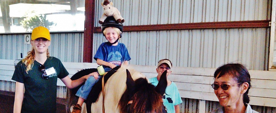 Therapeutic Horseback Riding for children with special needs