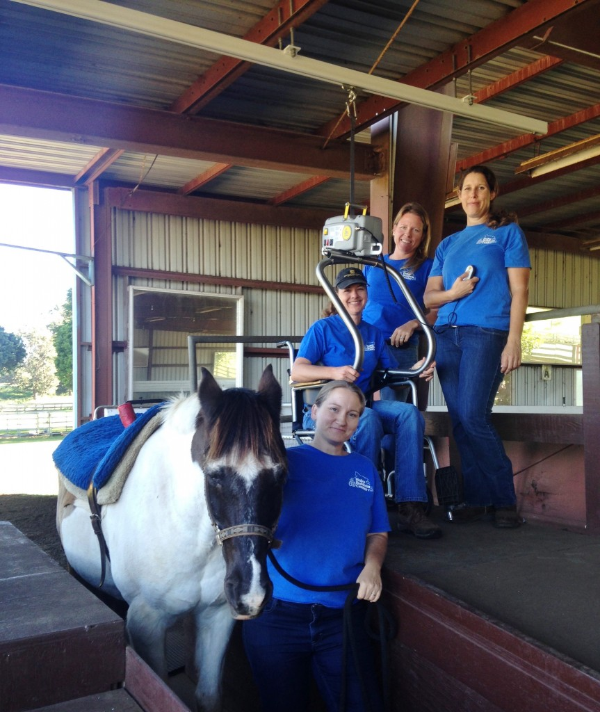 new wheelchair lift system for hbc u2019s therapeutic riding